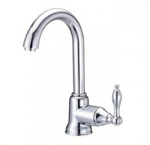 Danze D150540 Fairmont Single Handle Bar Faucet Side Mount Handle, Chrome