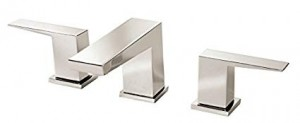 Danze D304062PNV Mid-Town Two Handle Widespread Lavatory Faucet, Polished Nickel PNV