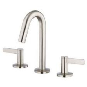 Danze D304130BN Amalfi Two Handle Mini-Widespread Lavatory Faucet, Brushed Nickel