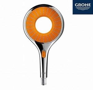 Grohe 27444000 Rainshower Icon 150 Hand shower 2 sprays, chrome finish, shower head 2.5 gpm