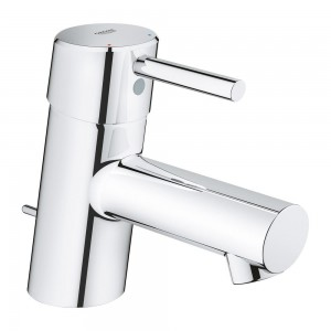 Grohe 34271001 Concetto 4 in. Centerset Single-Handle Single-Hole Bathroom Faucet Without Pop-Up - 1.5 GPM.