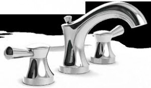 SYMMONS Slw7112rp Polished Chrome Bath Faucet widespread