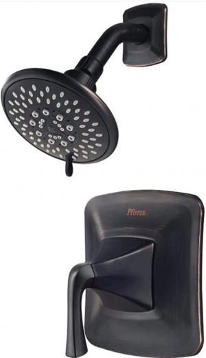Pfister Selia Tub & Shower Trim with Valve Tuscan Bronze