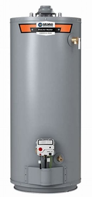 State gs6-40 hbrs 40-gallon Propane Gas Water Heater