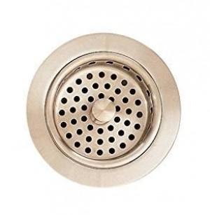 American Standard 4331013295 Metal Adjustable Sink Strainer Drain in Satin Nickel
