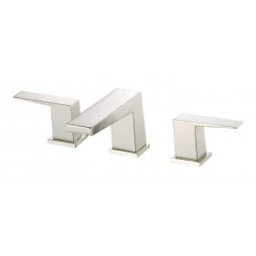 Danze D304062BN Mid-Town Two Handle Widespread Lavatory Faucet, Brushed Nickel