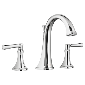American Standard 7722.900 Estate Two Handle Roman Tub Faucet, Deck Mount, 2 GPM, ADA Compliant