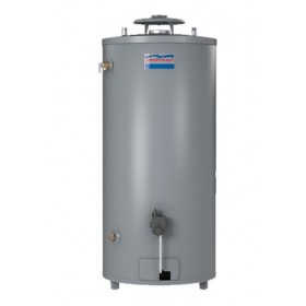 American G62-75T75-4NOV 74 Gallon High Recovery Natural Gas Water Heater, 6 Year Warranty