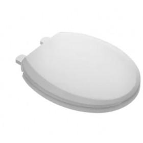 American Standard 5359A65G.020 Telescoping Toilet Seat, Polypropylene, White, Slow-Close Hinge