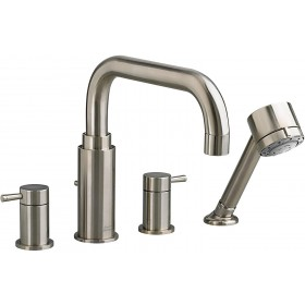 American Standard T064901.295 Serin Roman Tub Faucet With Hand Shower for Flash Rough-In Valves, Brushed Nickel