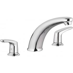 American Standard T075900.002 Colony Pro Roman Tub Faucet, Double Handle, Deckmount, Chrome