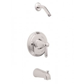 Gerber G9-093 Waveland Single Handle Tub & Shower Trim Kit, 2.5GPM, Less Showerhead