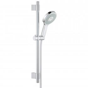"""Grohe 27732000 Power and Soul Cosmopolitan Shower Kit, 24"""" Slide Bar, Chrome"""