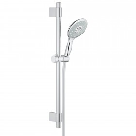 "Grohe 27736000 Power & Soul Dual Function Hand Shower, 24"" Slidebar, 4 Sprays, 2.5 GPM"