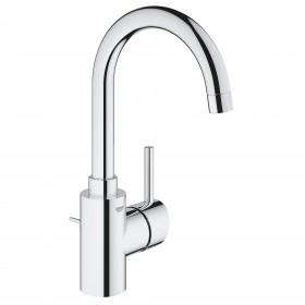 Grohe 32138002 Concetto Single Handle Bathroom Faucet, Single Hole, 1.2 GPM, Chrome