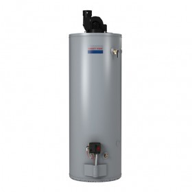 American PVG6250S62PVS 50 gal LP Residential Water Heater, Power Vent