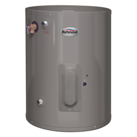 Richmond 6EP30-D Essential 30 Gallon 6-Year Point-of-Use Double-Element Electric Water Heater